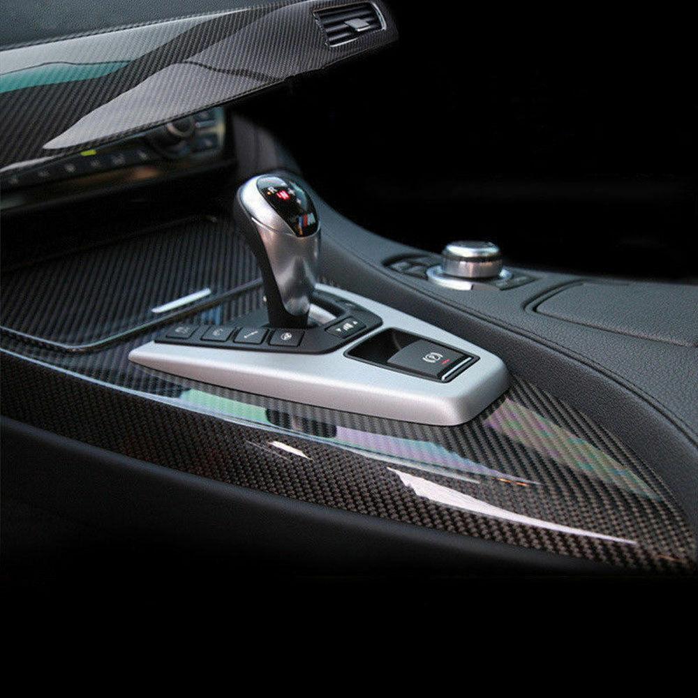 152x50cm 5D Carbon Carbonfolie Autofolie Folie Auto Schwarz Glanz Glänzend Matt