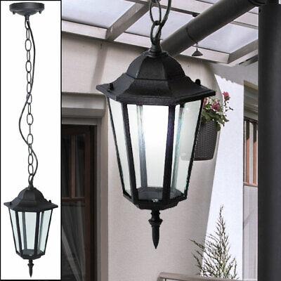 Diseño Cubrir Colgante Luz Terraza Iluminación Exterior Hof Péndulo Linterna