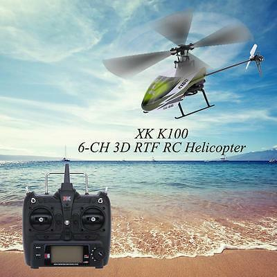 - High Quality Original XK Falcon K100 6CH 3D 6G System RTF RC Helicopter S5L7