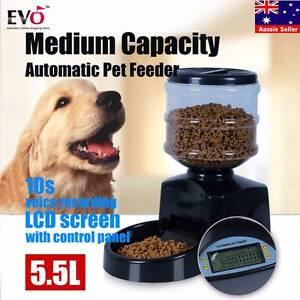 5.5L Big Automatic Program Digital Display Pet Cat Dog Feeder Halls Head Mandurah Area Preview