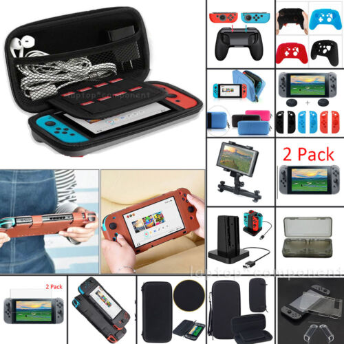 For Nintendo Switch 2DS 3DS XL LL Travel Carrying Bag Case C