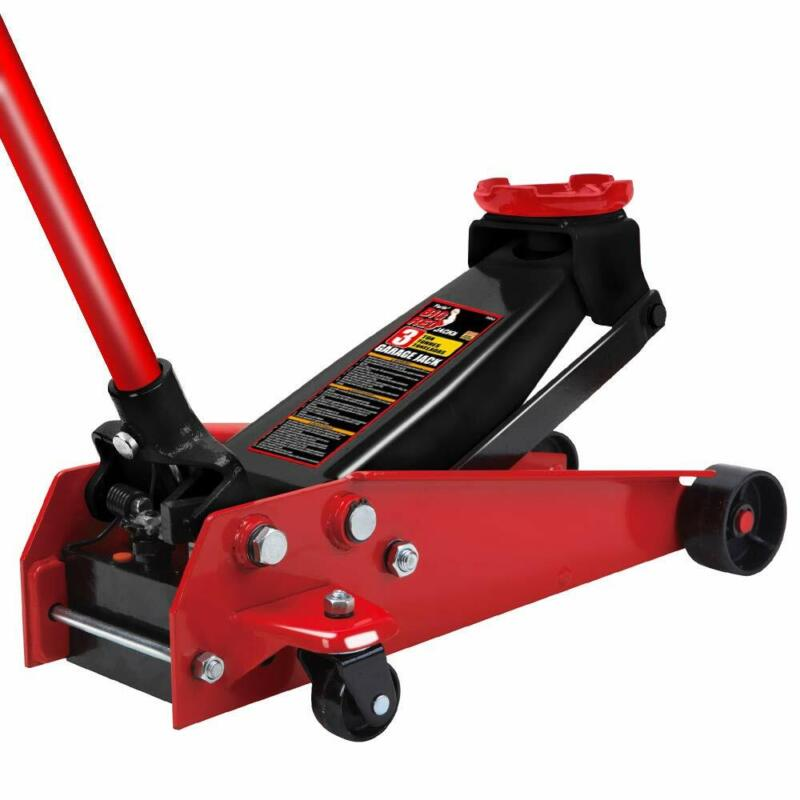 Torin Big Red Pro Series Hydraulic Floor Jack: Single Piston