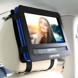10/10.5 Car Headrest Moust Holder Strap Case