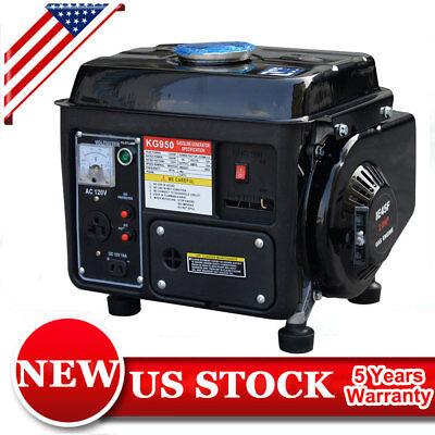 Transportable Generator Gas Powered 1200W 2 Stroke 63CC RV Camping Backup Electric