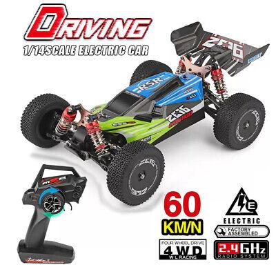 Wltoys XKS 144001 RC Car 60km/h High Speed 1/14 Racing Off-Road Drift RTR US