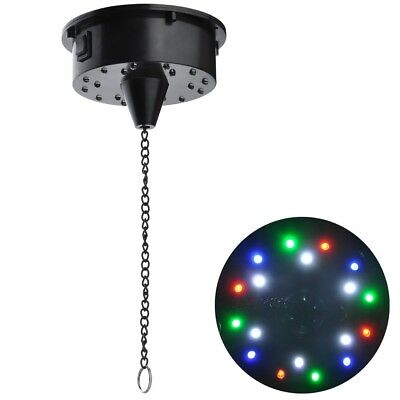 RGB LED Light Rotating Motor 6RPM For Mirror Disco Ball Up To 26 Pounds DJ - Led Disco Ball
