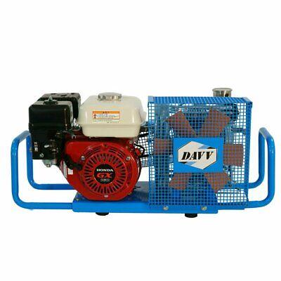 5.5hp Gas Powered Air Compressor Pump Gasoline Scuba Paintball Tanks Refill 6.8l