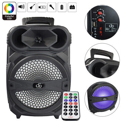 Rechargeable Portable Bluetooth Speaker With 8