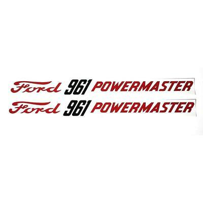 Dec361 Ford 961 Powermaster Mylar Decals Fits Ford