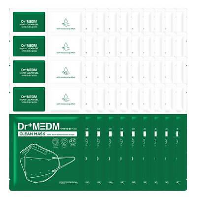 Dr+MEDM Clean Mask Four Layer Structural Filter 40ea Be Sent by EMS service