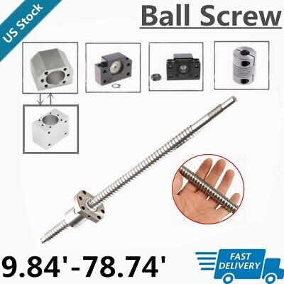 BallScrew SFU1204 SFU1605 SFU2005 SFU2505 End Machine & Support &Housing&Coupler