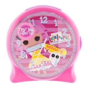 La La Loopsy Liteup Time Teacher Desk Clock