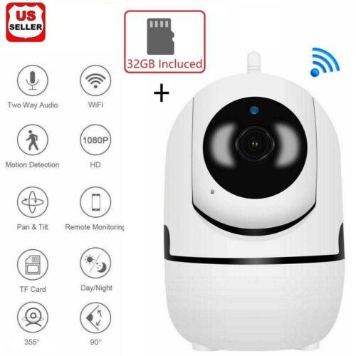 1080P HD IP Camera Wi-Fi IR Night Smart Home Wireless Security Baby Monitor CCTV Consumer Electronics