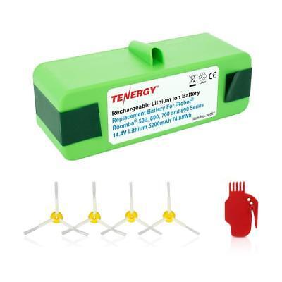Tenergy 5200mAh Replacement Battery for iRobot Roomba R3 500 600 700 800 Series](roomba battery replacement 500 series)