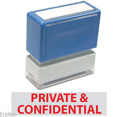 Jyp Pa1040 Pre-inked Rubber Stamp With Private Confidential