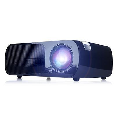 IRULU 1080P LCD Home Cinema Theater Projector Multimedia Player HDMI USB Black