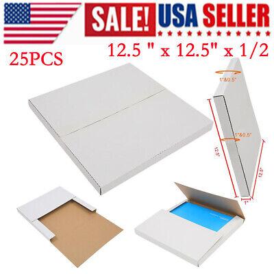 25pcs 12.5 X 12.5 X 12 Or 1 Lp Premium Record Album Mailer Book Box Mailers
