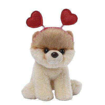 Gund Plüsch Hearts Headband Bitty BOO Worlds Cutest Dog Kuschelhund Stoff Hund