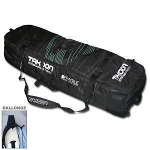 Takoon Kite Kiteboard bag 145cm Kitesurfing Luggage Wheel board bag Was £129.95