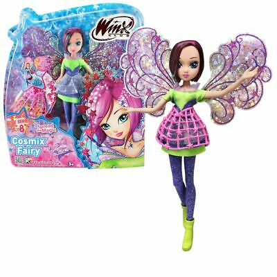 Tecna   Cosmix Fairy   Winx Club   Bambola con Ali Olografiche Mobili