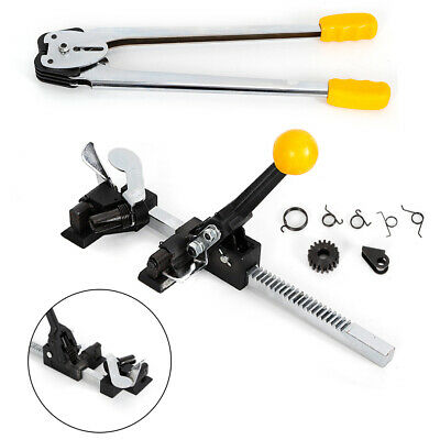 Manual Strapping Sealer Tensioner Crimper Packaging Poly Banding Tool Machine