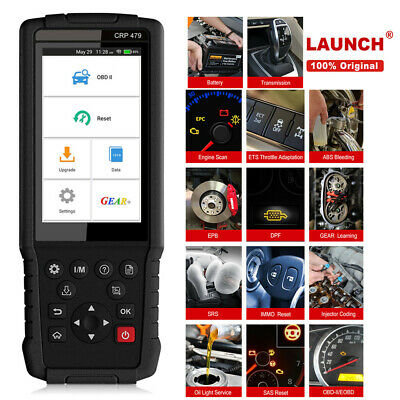 X431 CRP479 OBD2 Scanner Diagnostic Tool Touch Screen Keypad Special Function