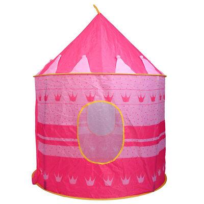 Children Portable Pop Up Play Tent Kids Girl Princess Castle Fairy Play House (Castle Play Tent)