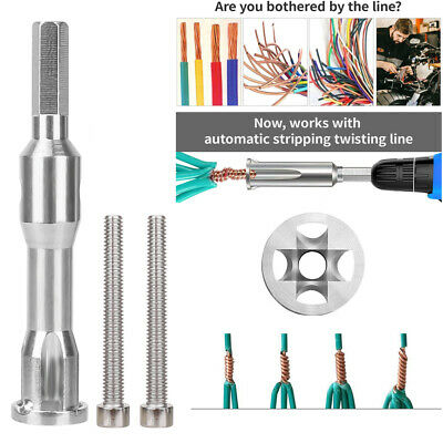Wire Twisting Tools Cable Twister For Stripping And Twisting Wire Cable Power