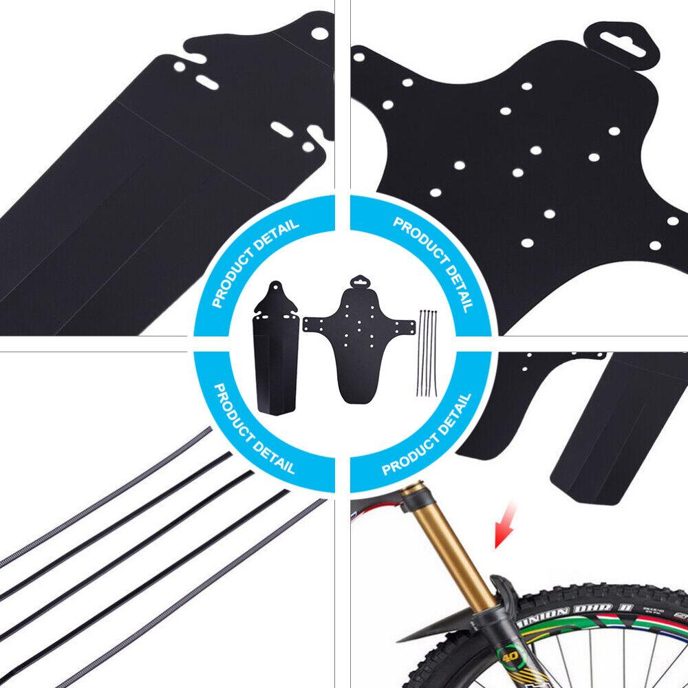 und Hinterrad Zubehör Mountainbike Mudguard Fender Set Fahrradkotflügel Vorder