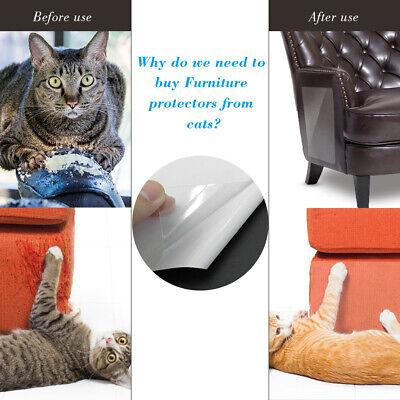 Scratch Guard Self Adhesive - 2X Cat Scratching Guard Self-Adhesive Couch Guard for Cat Furniture Protector 34