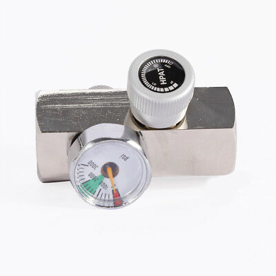 (CO2 Cylinder Replacement Connectors with on/off Knob for European Soda Stream)