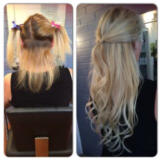 Clip In & Halo Extensions 200grms THICK 200 grms set all colours $180 Clear Island Waters Gold Coast City Preview