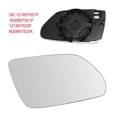 Neu /& ab Lager Außenspiegel Seitenspiegelglas links asphärisch VW Polo 9N ab 05