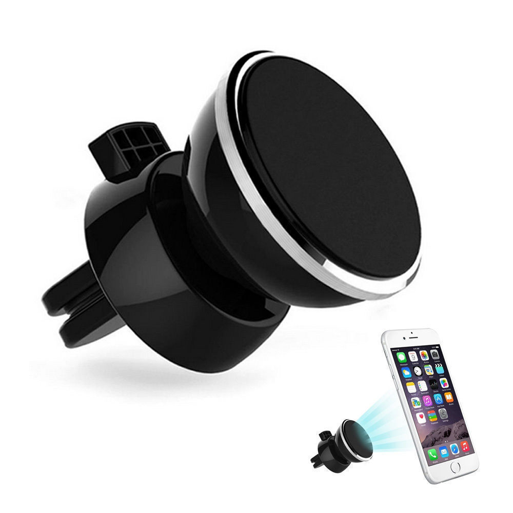 360°Universal Rotating Magnetic Support Cell Phone Car SUV Air Vent Mount Holder