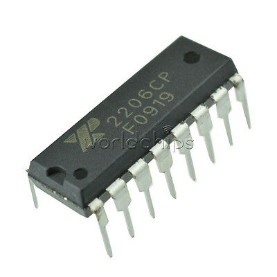 Exar Xr2206 Monolithic Function Generator Ic 16 Pin Dip Xr2206cp