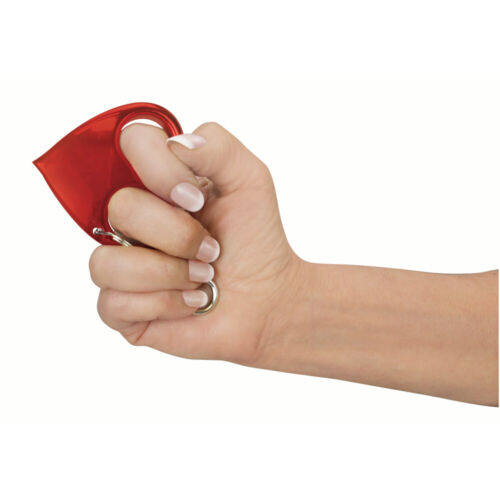 Heart Attack Self Defense Keychain