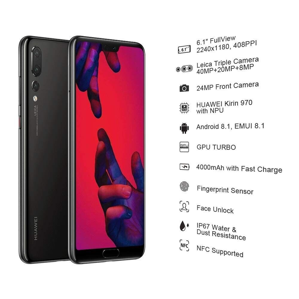 Huawei P20 Pro CLT-L09 128GB Single SIM Free Unlocked Android Smartphone |  in Leith, Edinburgh | Gumtree