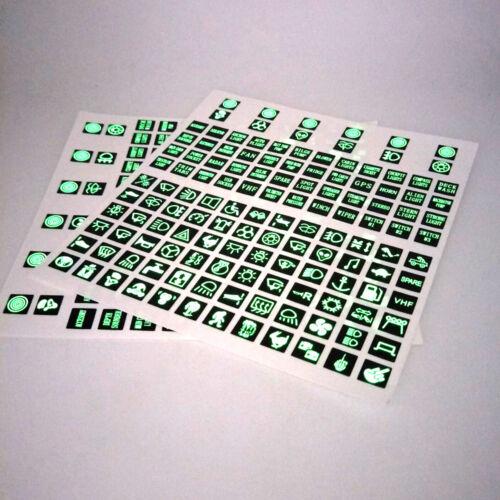 1 Sheet PBC 3M Rocker Switch Label Circuit Panel Sticker Decal For Car Yacht