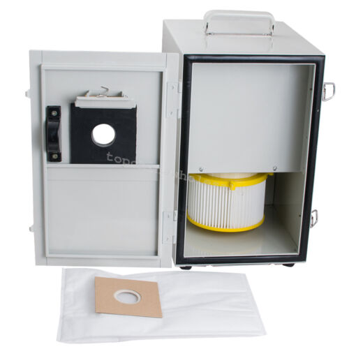 CE Dental Digital Double Impeller Dust Collector Artificer Room Vacuum Cleaner