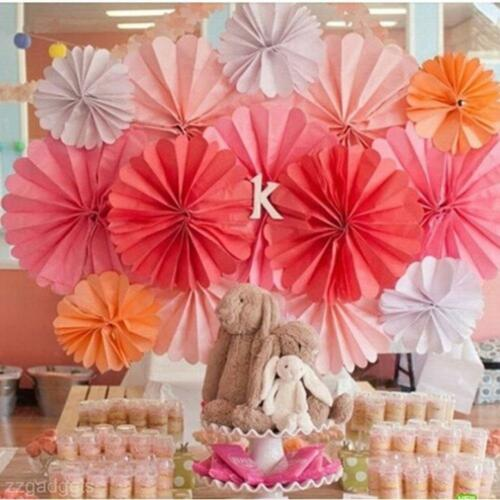 Colorful Paper Pom Flowers Balls Wedding Flower Birthday Party