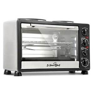 34L Benchtop Convection Oven with Twin Hot Plate North Melbourne Melbourne City Preview