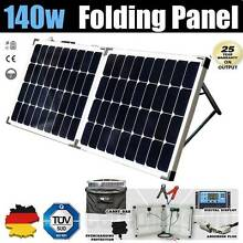 140w Folding Solar Panel kit 12v regulator Caravan Boat Camping Craigie Joondalup Area Preview