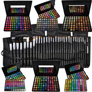 88-96-120-Lidschatten-Palette-16-24-32-40-Pinsel-Set-Kosmetik-Make-EYESHADOW