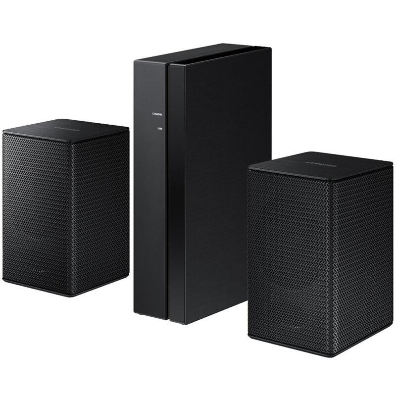 Samsung Wireless Rear Loudspeakers works with select Samsung soundbars (Pair) Black SWA-8500S/ZA