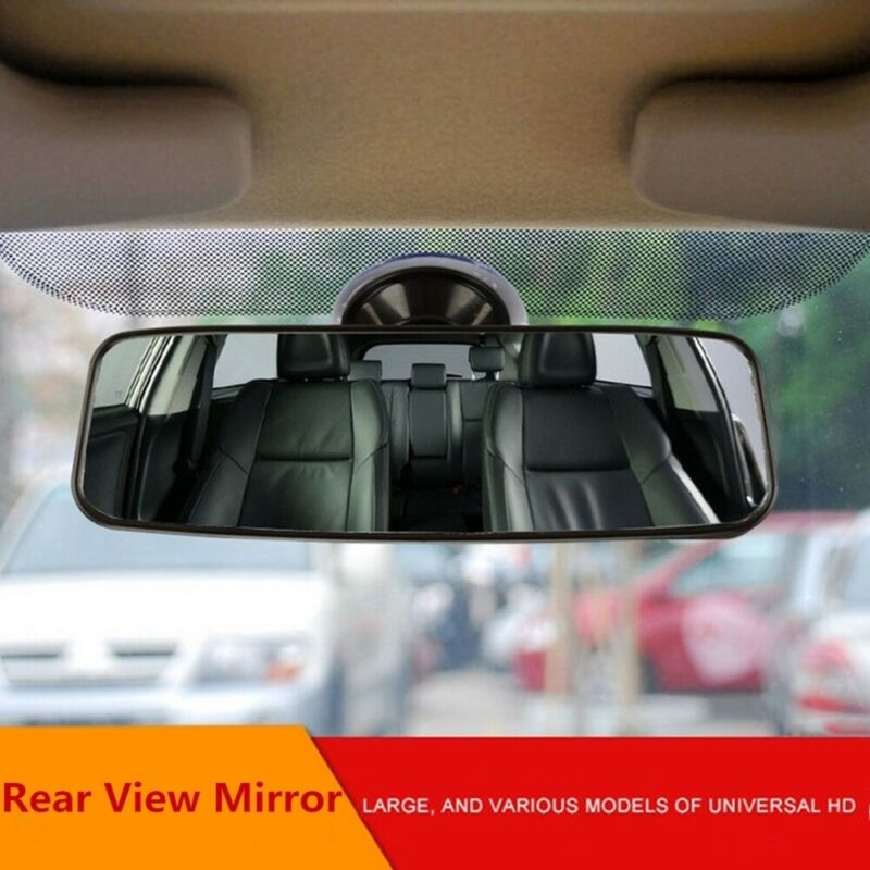 High Definition Heart Horse Rear View Mirror,Universal Adjustable Angle Rearview Mirror for Car and Truck,Reduce Blind Spot to Suction Cup