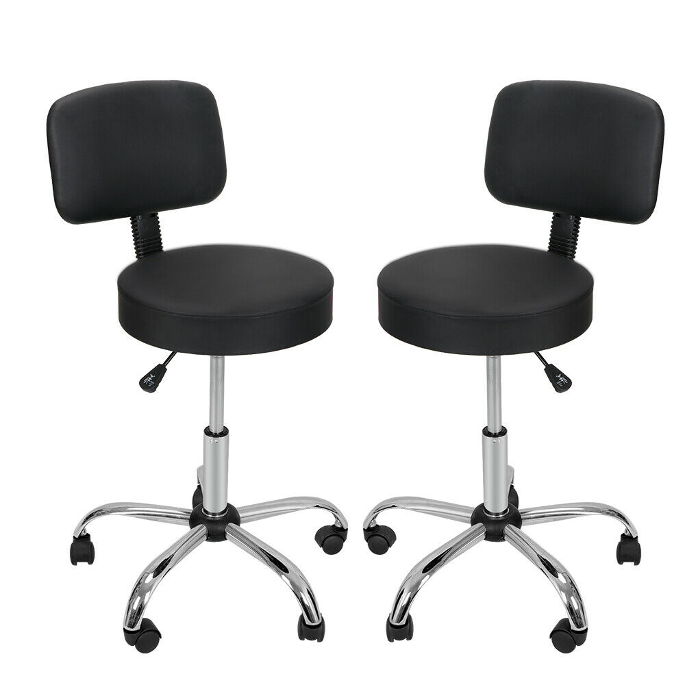 Facial Spa Hydraulic Rolling 2X Adjustable Swivel Salon Stool Chair Massage Health & Beauty