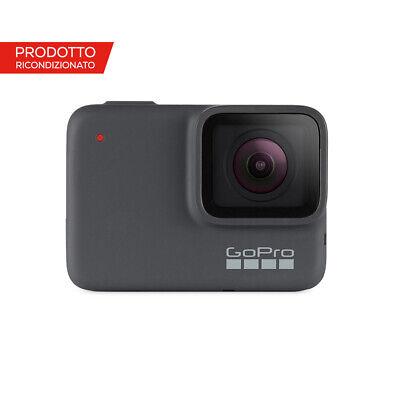 Videocamera GoPro HERO7 Silver ricondizionata per video in 4K