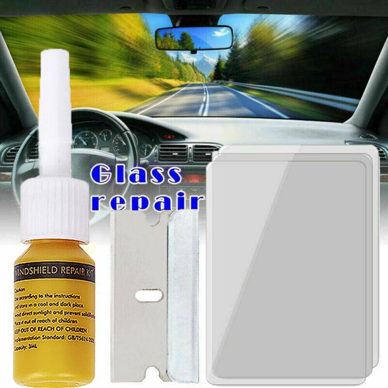 Auto Glass Nano Repair Fluid Car Window Glass Crack Chip Repair Tool Kit