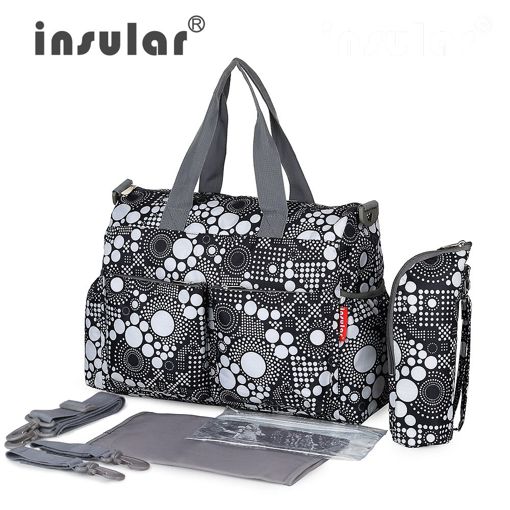 Multifunctional Mommy Bag Baby Diaper Mummy Changing Bag Waterproof Nappy Bag