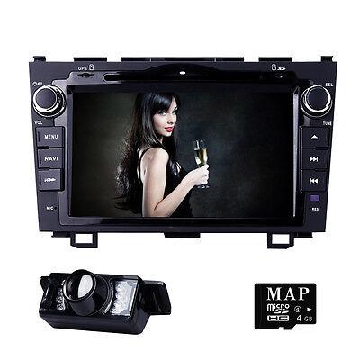 8  Car Gps Dvd Player Bluetooth Radio Rds For Honda Crv 2007 2008 2009 2010 2011